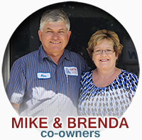 mike and brenda co-owners