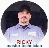 ricky ase master tech